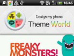 Freaky Monsters Go Theme 1.0 Screenshot