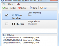 Free Alarm Clock Portable 4.0.1 Screenshot