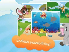 Free Animals Puzzles for Kids 1.16 Screenshot