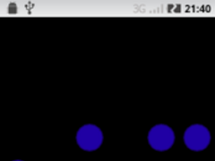 Free Binary Clock Wallpaper 1.3 Screenshot