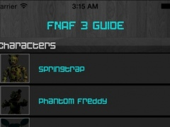 Free Cheats Guide for Five Nights at Freddy's 3 and 4 1.1 Screenshot