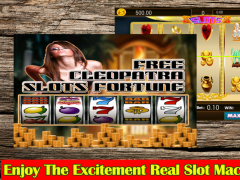 Free Cleopatra Slots Fortune 1.0 Screenshot