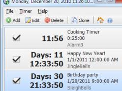 Free Countdown Timer Portable 4.0.1 Screenshot