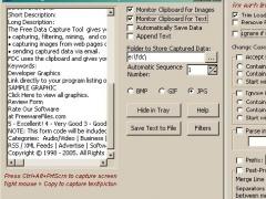 Free Data Capture 1.0 Screenshot