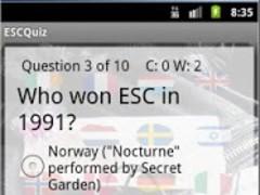 Free Eurovision Quiz Baku 2012 7.0 Screenshot