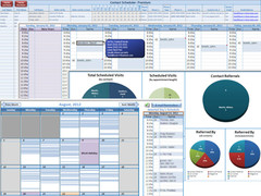 Excel Contact Appointment Scheduler 8.0 Screenshot