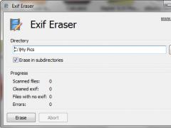 Free EXIF Eraser 1.0 Screenshot
