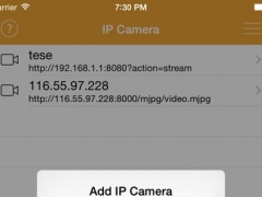 Free IP Camera - Turn your device into IP Camera 6.4 Screenshot