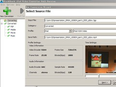 BlackShark DVD and Video To iPad Converter 3.1.1.1 Screenshot