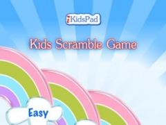 Free kids scramble word game 1.1 Screenshot