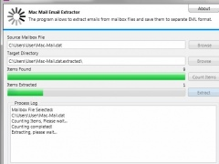 Free Mac Mail Email Extractor 8.9.7.9 Screenshot