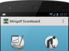 Free Minigolf Scorecard 1.7.4 Screenshot