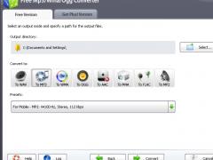 Free Mp3/Wma/Ogg Converter 9.7.3 Screenshot