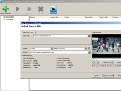 BlackShark DVD and Video To MP4 Converter 3.1 Screenshot