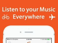 Free Music Player & Audio Mp3 Cloud Manager app for Dropbox 3.2 Screenshot