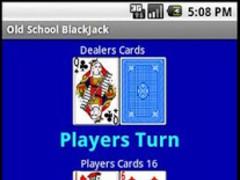 Free Old School BlackJack 1.3 Screenshot
