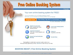 Free Online Booking System 3.01 Screenshot