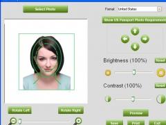 Free passport photo software 7.2.0 Screenshot