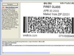 FREE PDF417 Recognizer 1.0.0.0 Screenshot