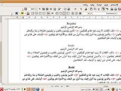 Free Persian Font 1.0.0 Screenshot