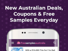 Free Samples Savings Australia 2.0.2 Screenshot