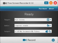 Free Screen Recorder 8.3.0.1215 Screenshot