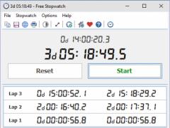 Free Stopwatch 4.0 Screenshot