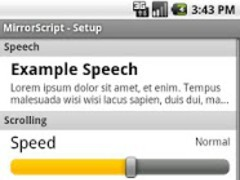 Free Teleprompter 0.1 Screenshot