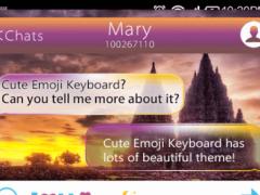 Free Temple Keyboard Emoji 1.0.0 Screenshot