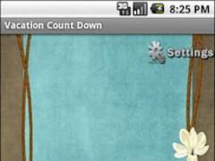 Free Vacation Countdown 1.0 Screenshot