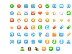 Free web development icons 1.0 Screenshot
