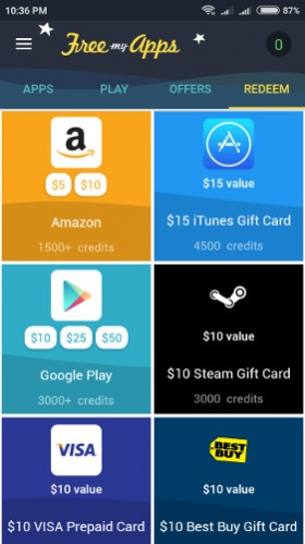 earn itunes gift cards by downloading apps