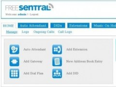 FreeSentral 1.2 Screenshot
