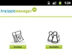 Freizeitmanager 1.1.3 Screenshot