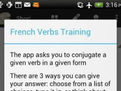 French Verbs Master 1.10 Screenshot