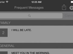 Frequent Messages 1.2 Screenshot