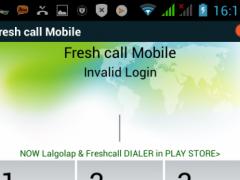 Fresh call Mobile 3.8.3 Screenshot