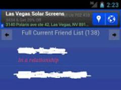 Friend Tracker (Facebook) 3.5 Screenshot