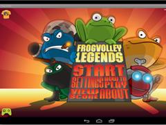 Frog Volley 0.9.12 Screenshot