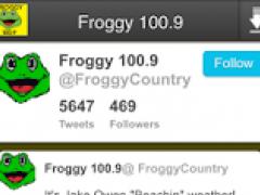 Froggy 100.9 2.0 Screenshot
