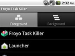Froyo Task Killer 1.0 Screenshot