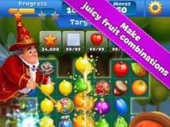 Fruit Charm Mania - 3 match puzzle jelly boom game 1.0 Screenshot