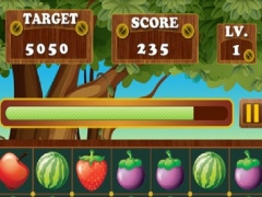 Fruit Connect Pop Star Crush Mania - Fruit Match Free Edition 1.0 Screenshot