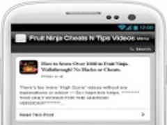 Fruit Ninja Cheat N Tip Videos 1.0 Screenshot