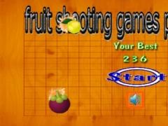 fruit shooting games play free 1.0 Screenshot