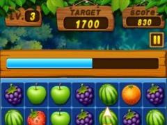 Review Screenshot - Match-3 Game – Lots of Fruit Matching Fun!