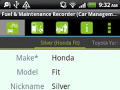 Fuel & Maintenance Recorder 3.0.7 Screenshot