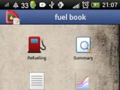 fuel book, gas & mileage log 1.91 Screenshot