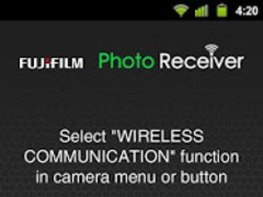 FUJIFILM Photo Receiver  Screenshot