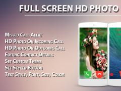 Full Screen HD Photo Caller ID 1.2 Screenshot
